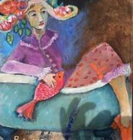 Mujer tina