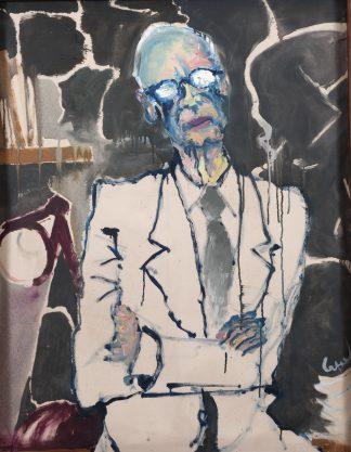 Retrato de Milan Ivelic