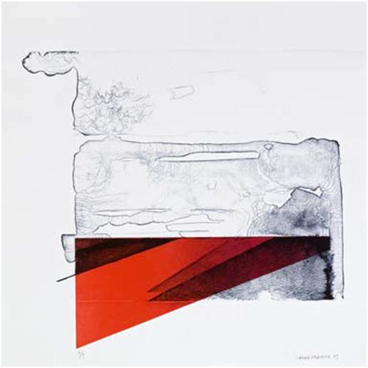 5-De la serie Toscana,Litografía,50x50 cm