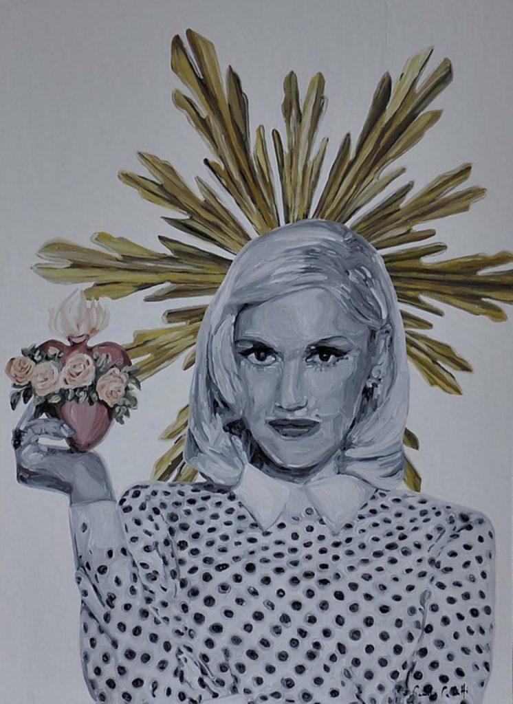 Gwen Stefani - 82x59,5 - 20201595554522921