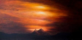 Light over the Valhalla