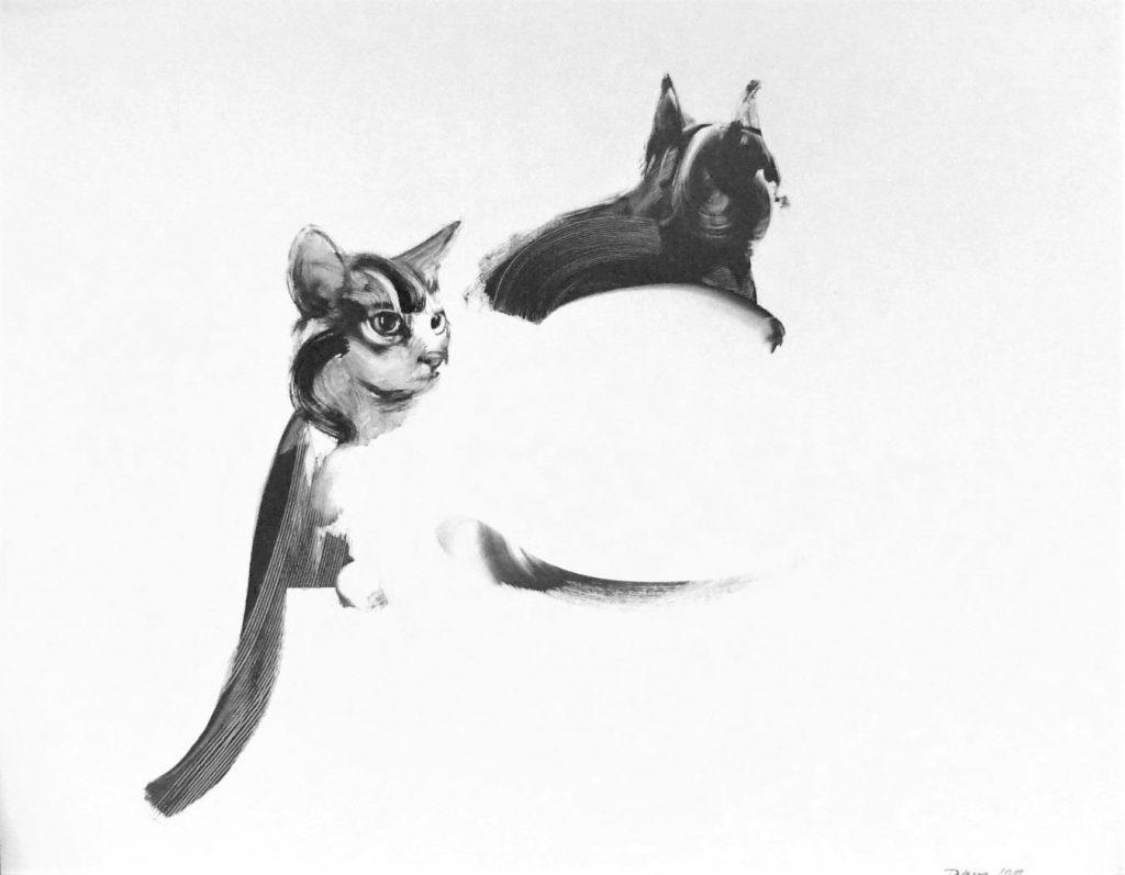 Síntesis de dos gatos