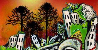 Araucarias en la ciudad