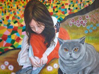 La princesita y el gato