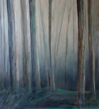 Bosque en Ceruleo