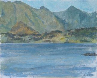Lago Ranco, día despejado