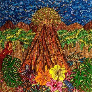 El volcán que habita en mi